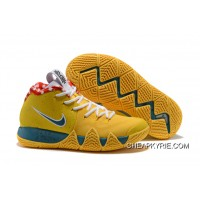 "newest a3f2d 68a66 Outlet Nike Kyrie 4 ""Yellow Lobster"" PE"