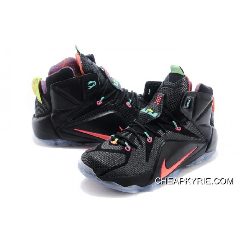 a2024ded9723e Authentic Nike LeBron XII Men Basketball Shoe SKU:173353-300, Price ...