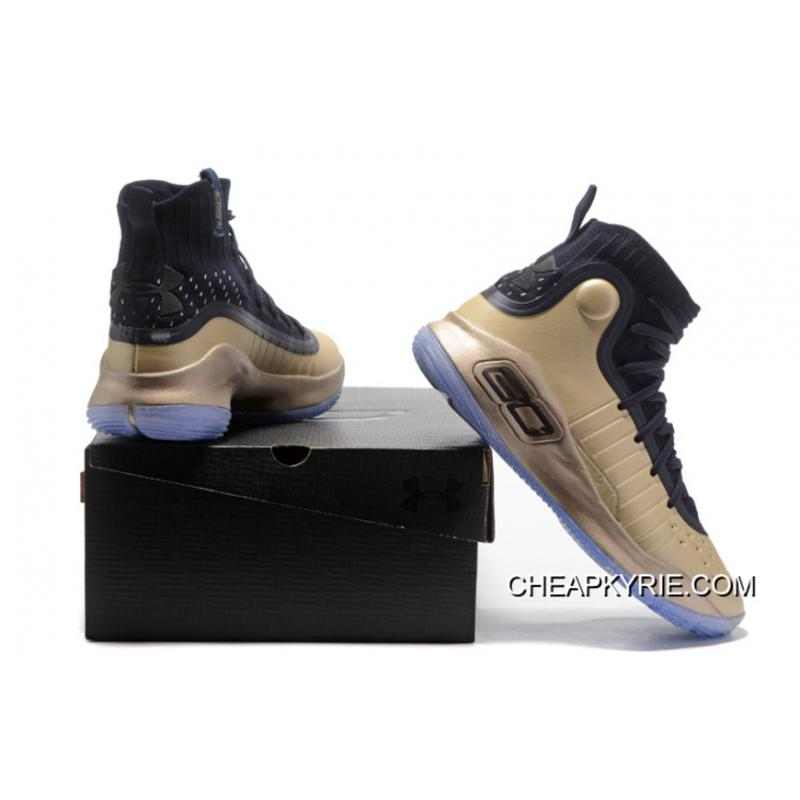 """18372838ff8b7 ... Under Armour Curry 4 """"Parade"""" Gold Black Discount ..."""