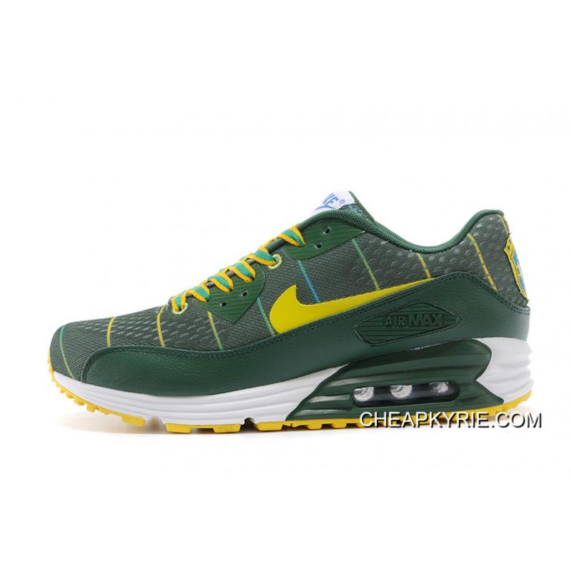 Nike Air Max 90 Women Grey Green Trainers Shoes  Nike 251