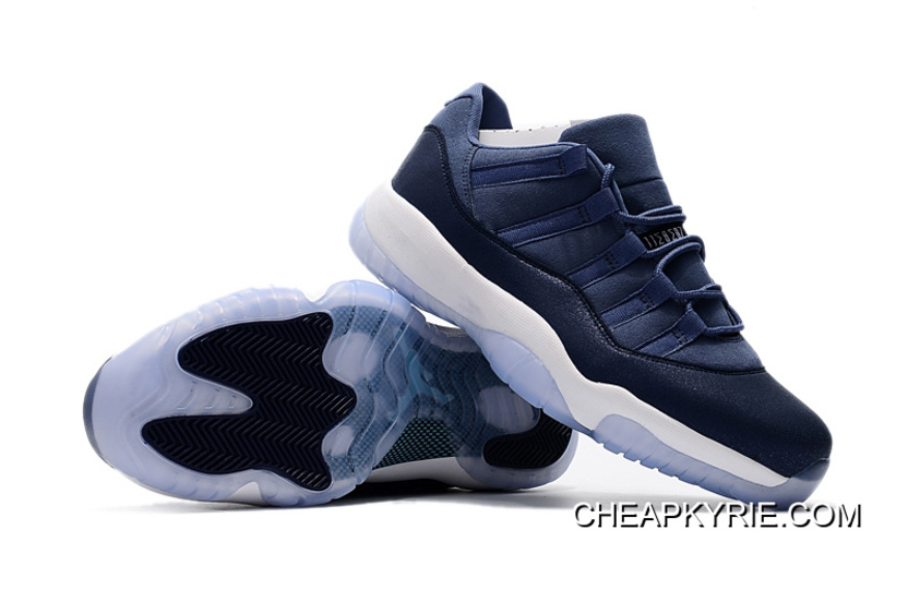 Air Jordan 11 Low Blue Moon/Sunset Blue-Binary Blue-White Men Sneakers