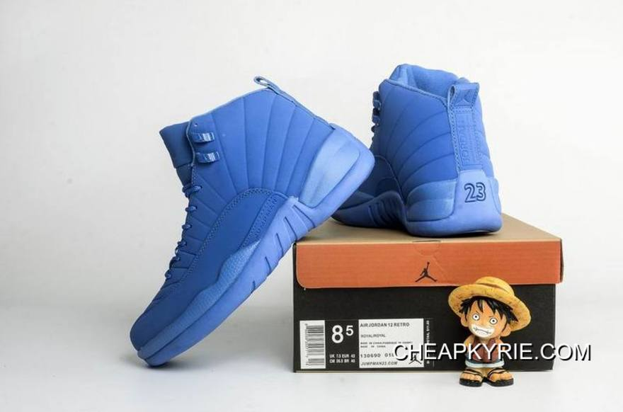 "official photos deb96 df23f Air Jordan 12 ""Blue Suede"" Super Deals"