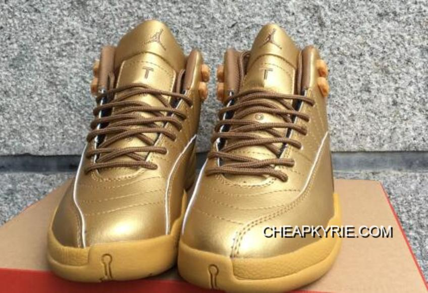 """new products 9f3d3 fcae8 Air Jordan 12 """"Gold"""" Authentic"""