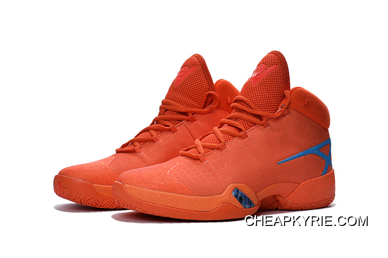 bab15623e1d4bc Air Jordan 30 XXX Playoffs Orange Blue PE Cheap To Buy