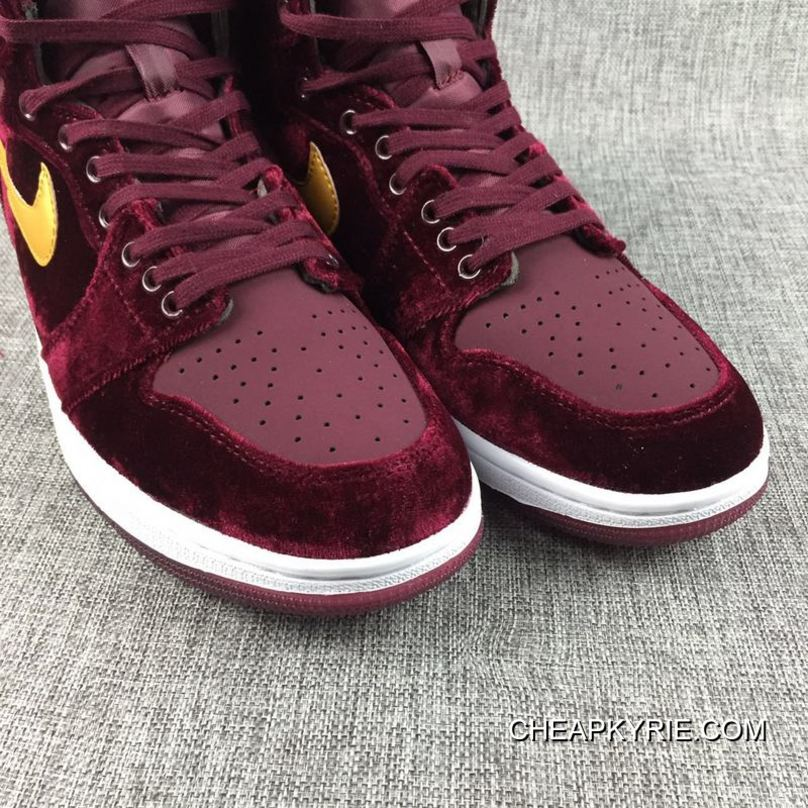 "sports shoes 6c02a e66aa Air Jordan 1 High Velvet ""Night Maroon"" Copuon Code"