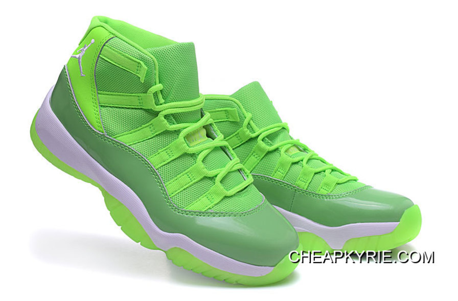 "best service c64d4 7b7ae Air Jordan 11 GS ""Neon Green"" PE Cheap To Buy"