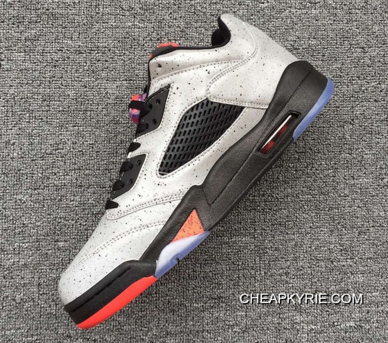 "the latest 5878e c8360 Air Jordan 5 Low GS ""Neymar"" Reflect Silver Infrared 23-Black Lastest"