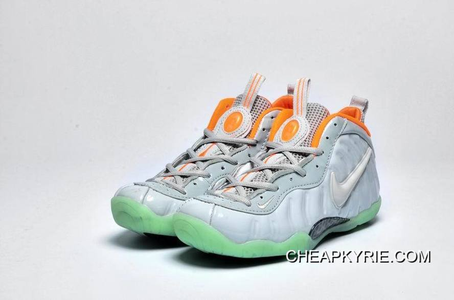 "570817b9b94e3 Girls Nike Air Foamposite Pro GS PRM ""Pure Platinum"" Copuon Code ..."