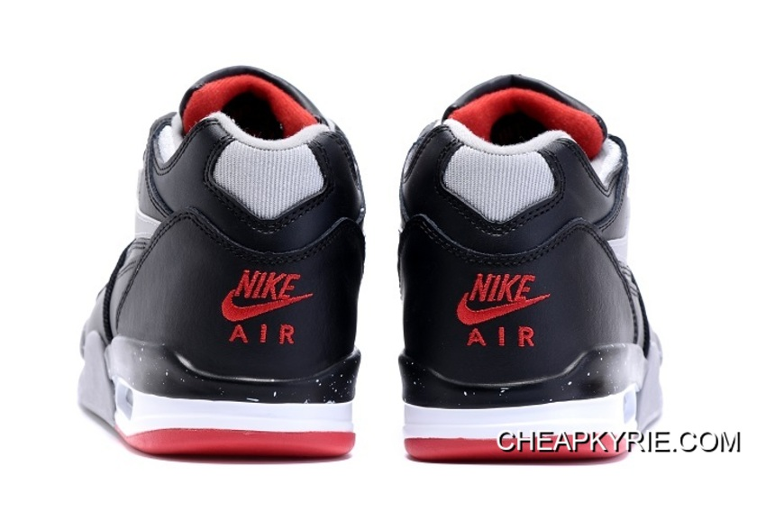 """new concept b562e 53259 Nike Air Flight  89 """"Bred"""" Black Cement Grey-Fire Red-"""