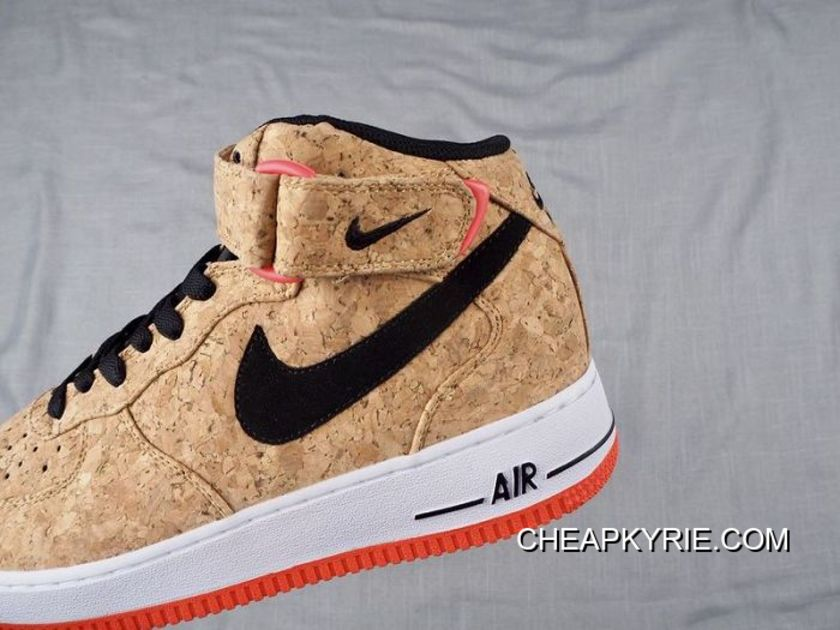 1 Nike Force Authentic Air Mid Shoe 107054 Cork Men Sku 275 Basketball trxhQsdCB