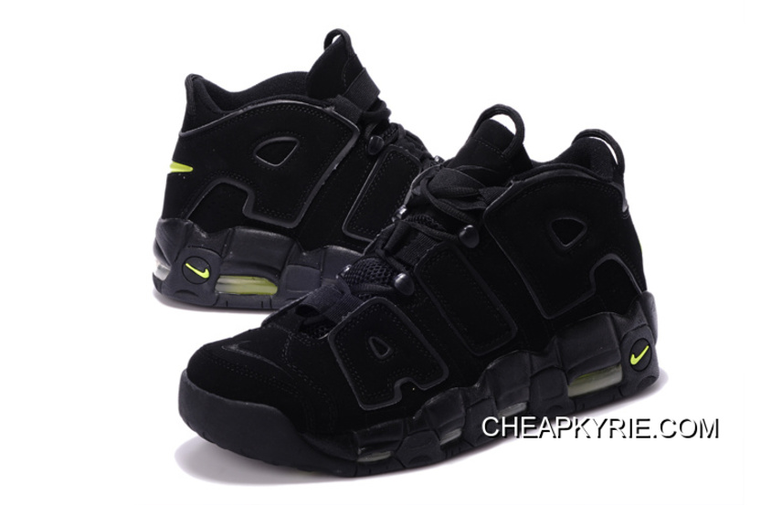 """04c0caf6d0c3e Nike Air More Uptempo """"Black/Volt"""" Cheap To Buy, Price: $87.02 ..."""