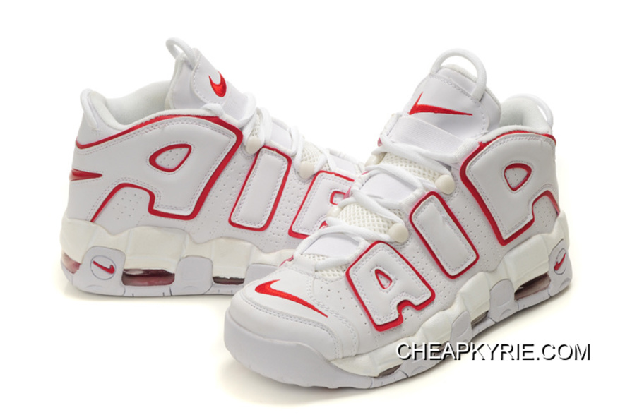 b36a336cecd1 Nike Air More Uptempo White Varsity Red Best