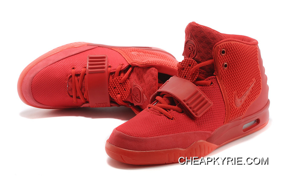 """30b2aa2ce47 Nike Air Yeezy 2 """"Red October"""" Glow In The Dark New Release"""