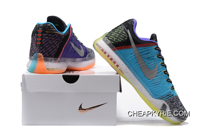"""innovative design 684d9 666b8 Nike Kobe 10 Elite Low """"What The"""" For Sale"""