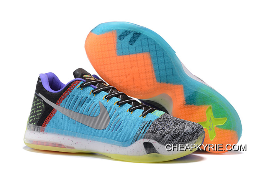 """Nike Kobe 10 Elite Low """"What The"""" For"""