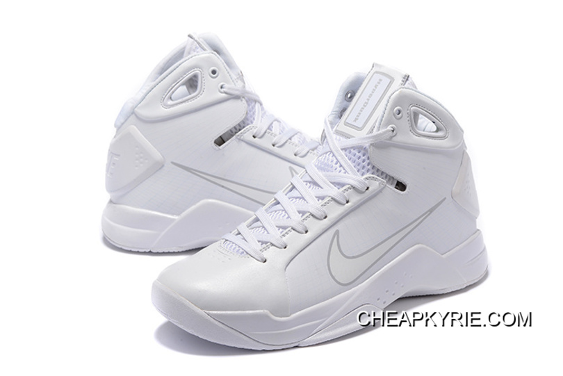 lowest price c157a 488b5 Nike Zoom Kobe 4 (IV) Olympic All White Cheap To Buy