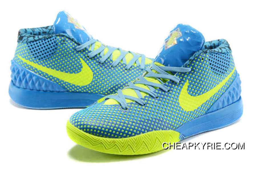 467deeb2cded ... promo code for nike kyrie 1 basketball shoes sky blue volt new release  08827 fe7f7