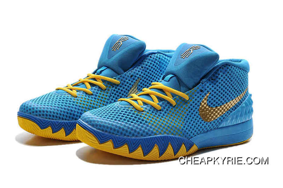 lowest price b7adc 9f218 Nike Kyrie 1 Basketball Shoes Cereal Blue Volt Best