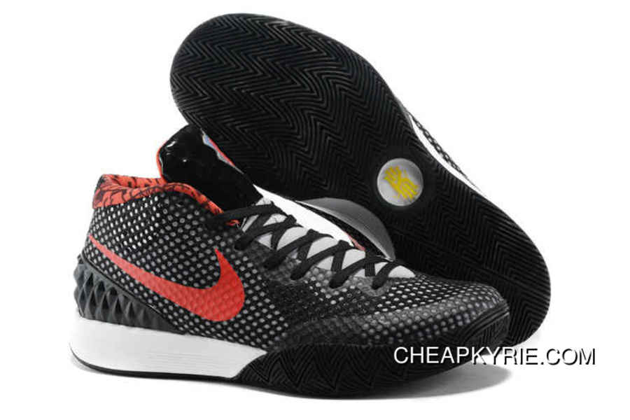 Nike Kyrie 1 Basketball Shoes Black Red