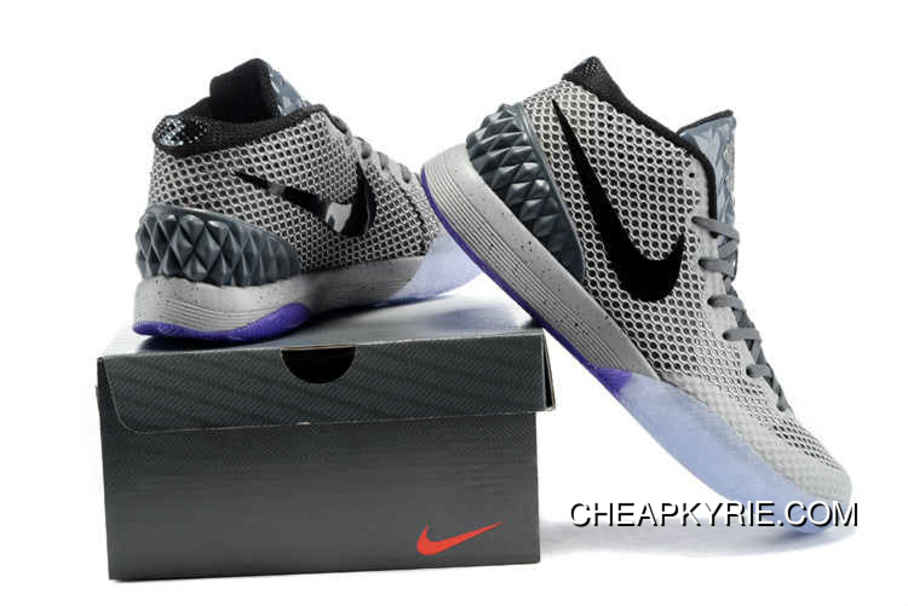 1ac30aa70f15 Nike Kyrie 1 Basketball Shoes All Star Dark Grey Multi-Color Discount