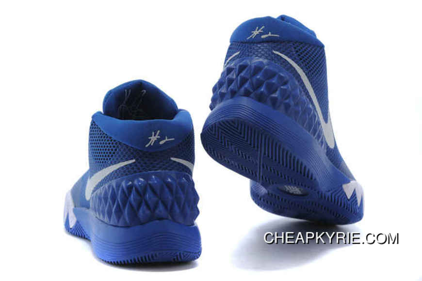 hot sale online d5ef2 e1834 Authentic Nike Kyrie 1 Shoes Royal Blue White Cheap To Buy