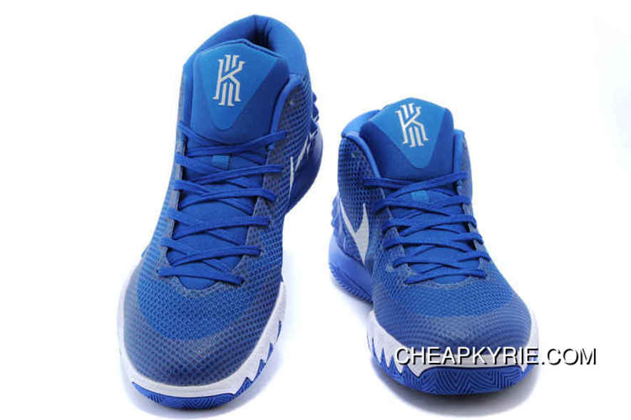 hot sale online b7b14 57f9d Authentic Nike Kyrie 1 Shoes Royal Blue White Cheap To Buy