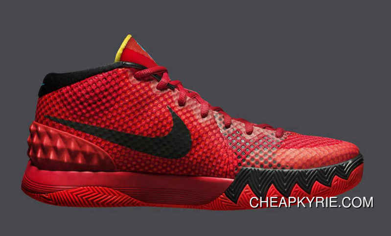 new concept 45ed1 046db Nike Kyrie 1 Deceptive Red For Sale