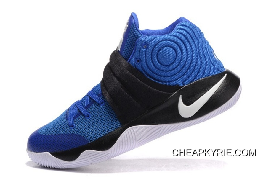 "545354baf004 Nike Kyrie 2 ""Brotherhood"" Hyper Cobalt Metallic Silver-Black For Sale"