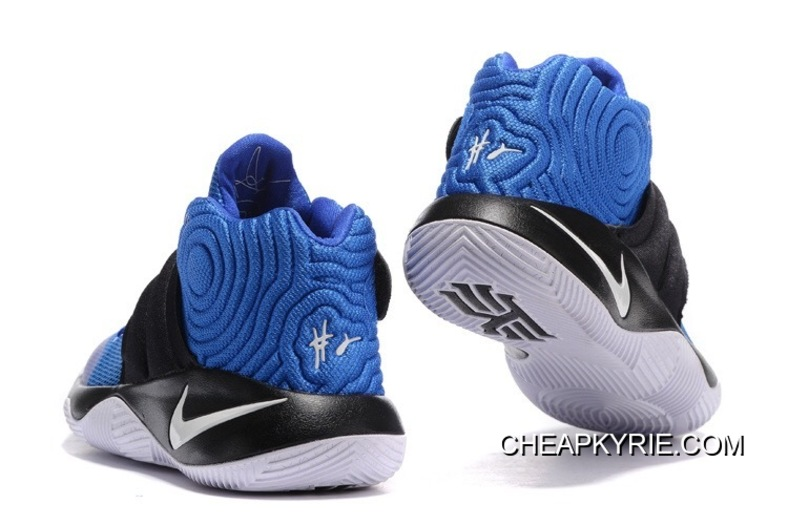 "watch 53d0f b6365 Nike Kyrie 2 ""Brotherhood"" Hyper Cobalt Metallic Silver-Black For Sale"