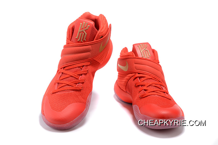 "the best attitude 23d24 46252 Nike Kyrie 2 ""Gold Medal"" University Red Metallic Gold Super Deals"