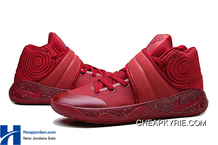 "a5f91d33dbda Red Velvet"" Nike Kyrie 2 Team Red Pure Platinium-Black For Sale ..."