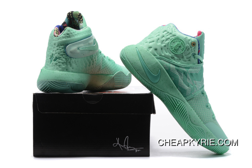 """finest selection d2c54 055fe Cheap """"What The"""" Nike Kyrie 2 Green Glow Green Glow Lastest"""