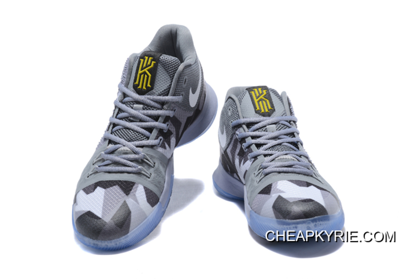 7cf547f03d7 New Released Nike Kyrie 3 Cool Grey Sail-Black Lastest