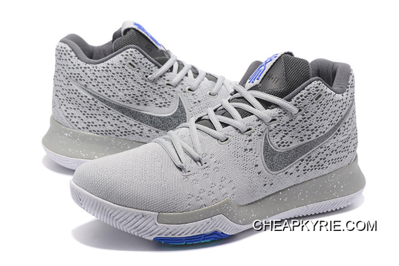 14ffd9892e9 Nike Kyrie 3 Wolf Grey White New Release