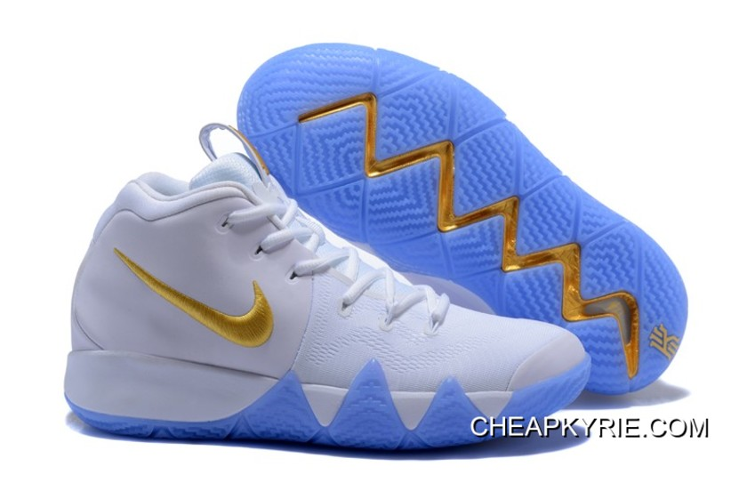 Best Nike Kyrie 4 White Gold, Price