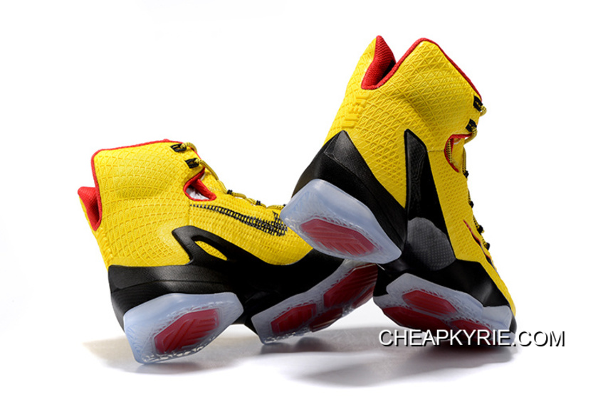 df074255061 Nike LeBron 13 Elite Yellow Black-Red New Release