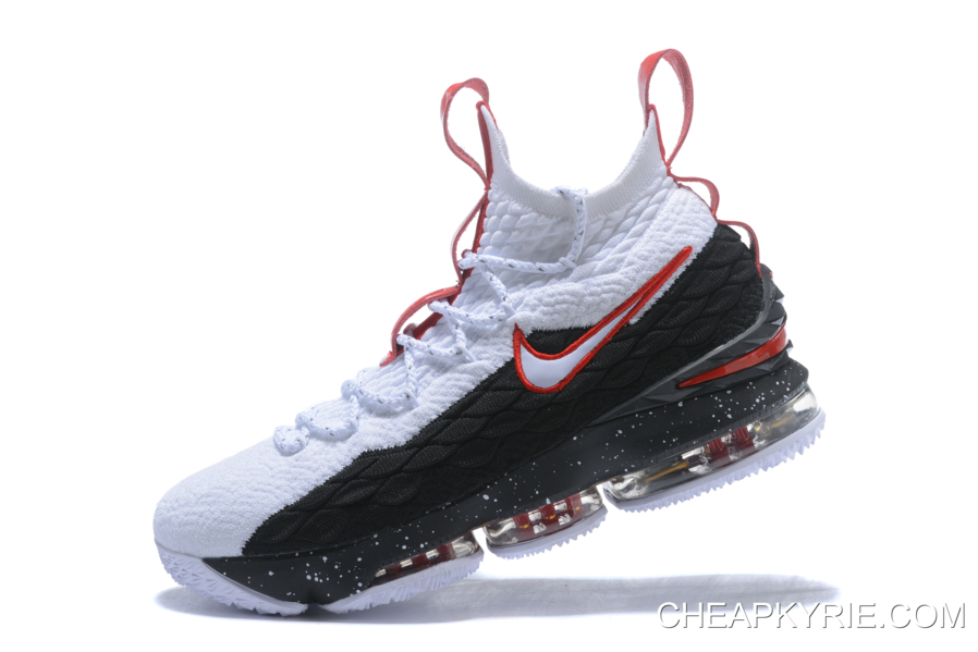 3bf009ffa1d5 Top Deals Nike LeBron 15 White Black-University Red