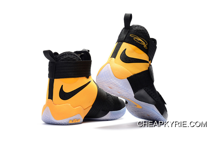 """46425636e933 Nike LeBron Zoom Soldier 10 """"Varsity Maize"""" For Sale"""