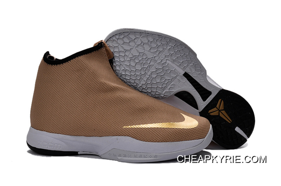 "finest selection 2779a f8ab3 Nike Zoom Kobe Icon Jacquard ""Metallic Gold"" For Sale"